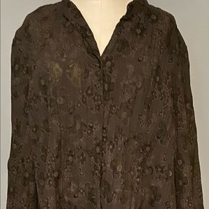 Gently worn woman's button shirt